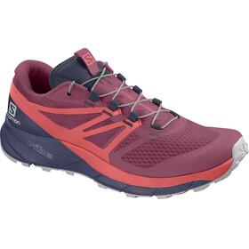 Salomon Sense Ride 2 Running Shoes Women red